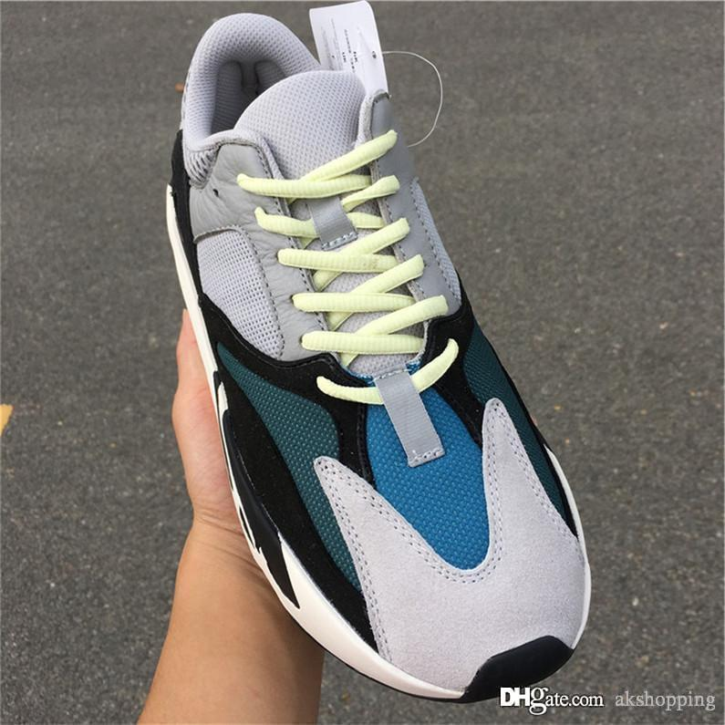 2019 Best Originals 700 Wave Runner 700s 551Yeezy 3M Reflective Kanye West Uomo Donna Scarpe da corsa B75571 Sneakers sportive con scatola