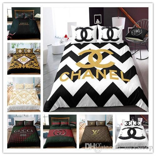 3D High Quality Hot sale Classic Pattern Printing duvet cover set with pillowcases home textile 2/3 pcs