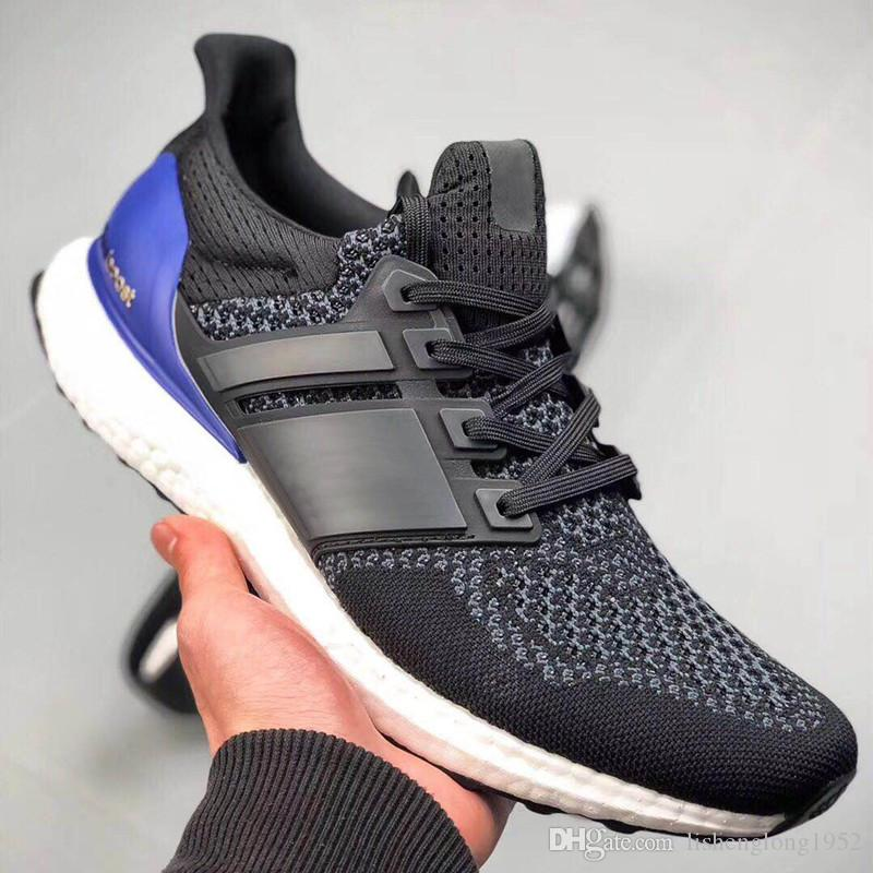 online retailer 891a9 860c0 2019 High Quality Original Ultra BOOST 1.0 man Shoes ultraboost OG blue  casual shoes Size 36-44