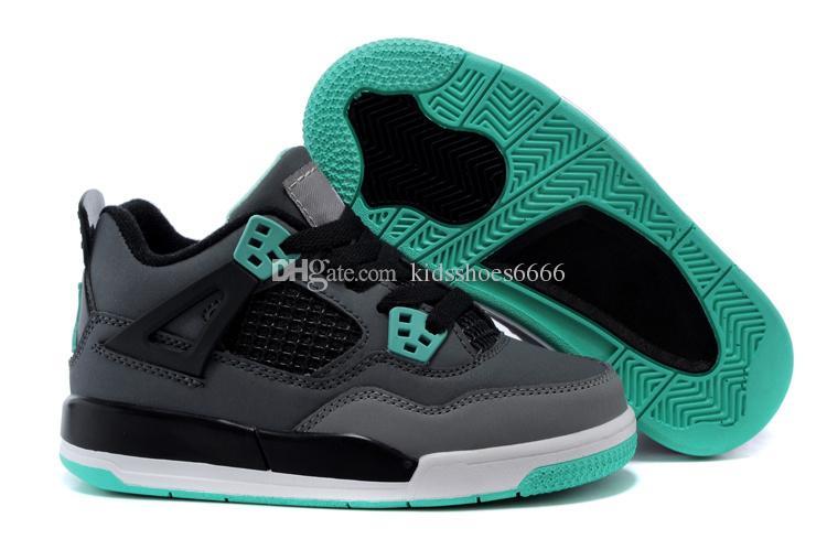 wholesale dealer ffe37 bad7d Acheter 2018 Nike Air Jordan 4 13 Retro Chaussures De Basketball Pour  Enfants 11s Blackout Gagnez Comme 96 UNC Gagnez Comme 82 Héritière Noire  Stingray ...