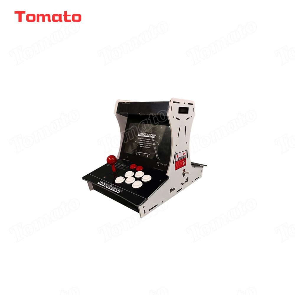 Tomato High quality Hot Sale Black 1388 in 1 China Acrylic Mini Multi Video Game Model Indoor Arcade Game Machine For 2 Players