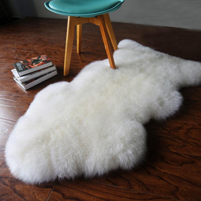 Fur Artificial Sheepskin Hairy Carpet For Living Room Bedroom Rugs