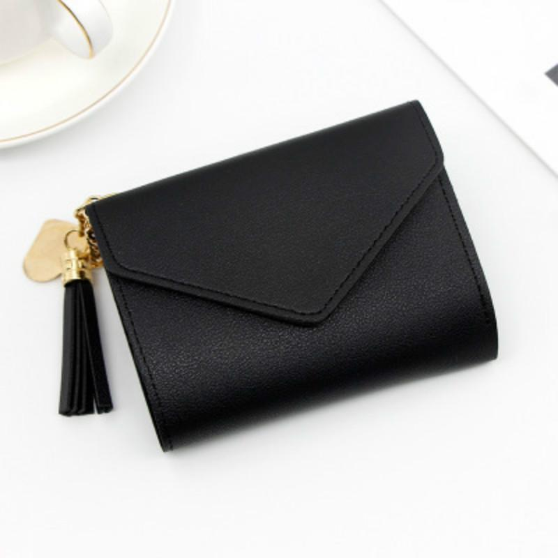 FREE SHIPPING Women Wallet Short style Small Three fold Hand Wallet Multi function many card Bag Direct Wholesale drop shipping girls purse