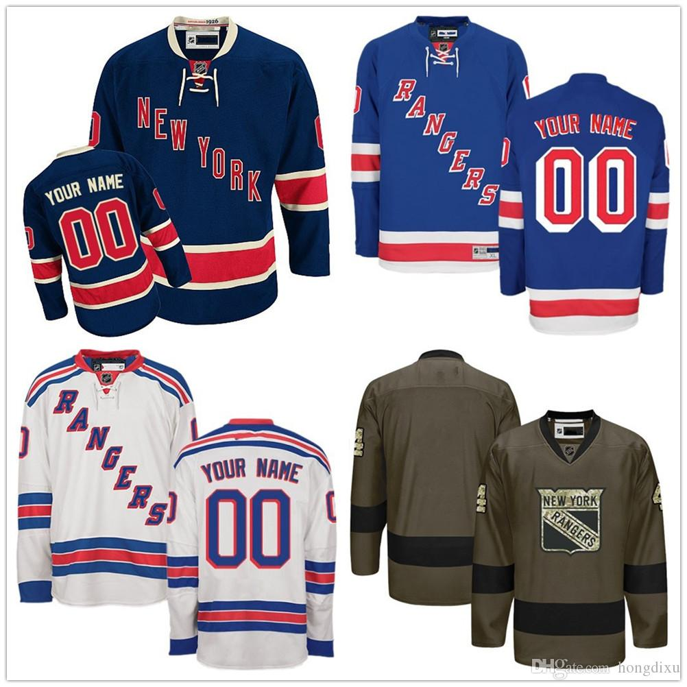 72f7fefcf Cheap New York Rangers 8 Kevin Klein 7 Rod Gilbert 9 Adam Graves 10 ...