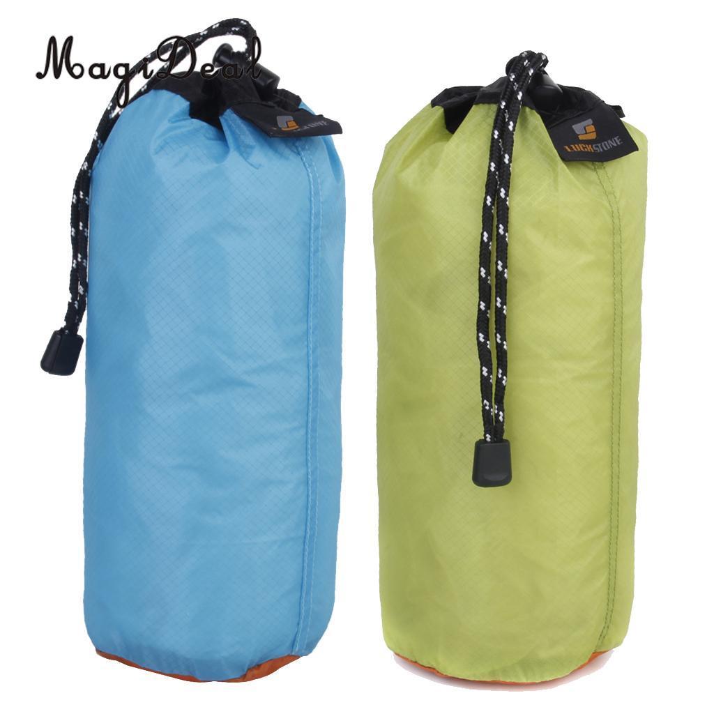 c59d856b1 2Pcs/Set 2L Ultralight Waterproof Drawstring Storage Bag Organizer Dry  Stuff Sack for Travel Camping Swimming Beach Kayaking