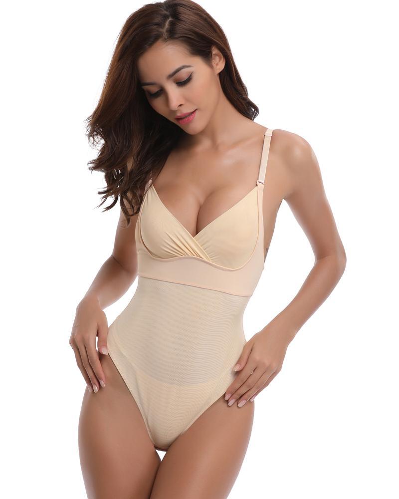 d88dc81c6e3 2019 Slimming Underwear Shapewear Bodysuit Women Waist Trainer Women Shaper  Sexy Lingerie Modeling Strap Waist Slimming Body Shaper From  Happyshopper5320