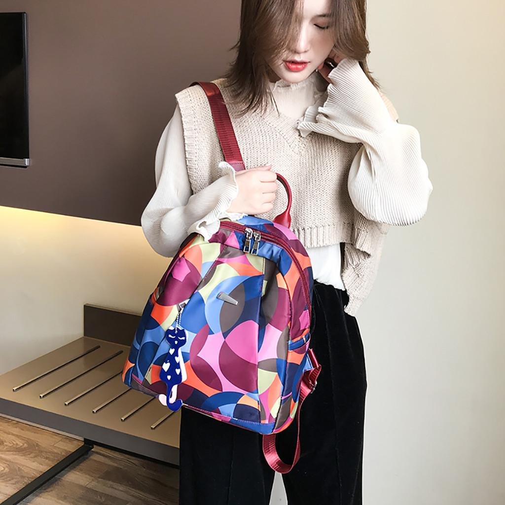 4d77c8b124bb OCARDIAN bag Women Oxford Cloth Wild Fashion Casual Student outdoor Travel  bag women high quality school backpacks dropship a15