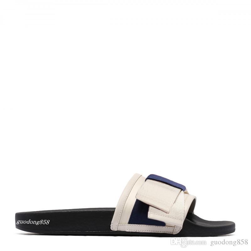 35a161358e150f Mens And Womens Fashion White Satin Rubber Slides Sandals Slippers ...