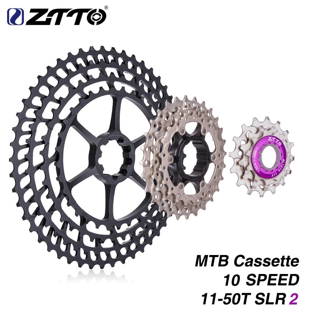 Ztto Mtb Bike 10 Speed 11-50t Ultralight Cassette Freewheel Bicycle Sprockets Cassettes, Freewheels & Cogs