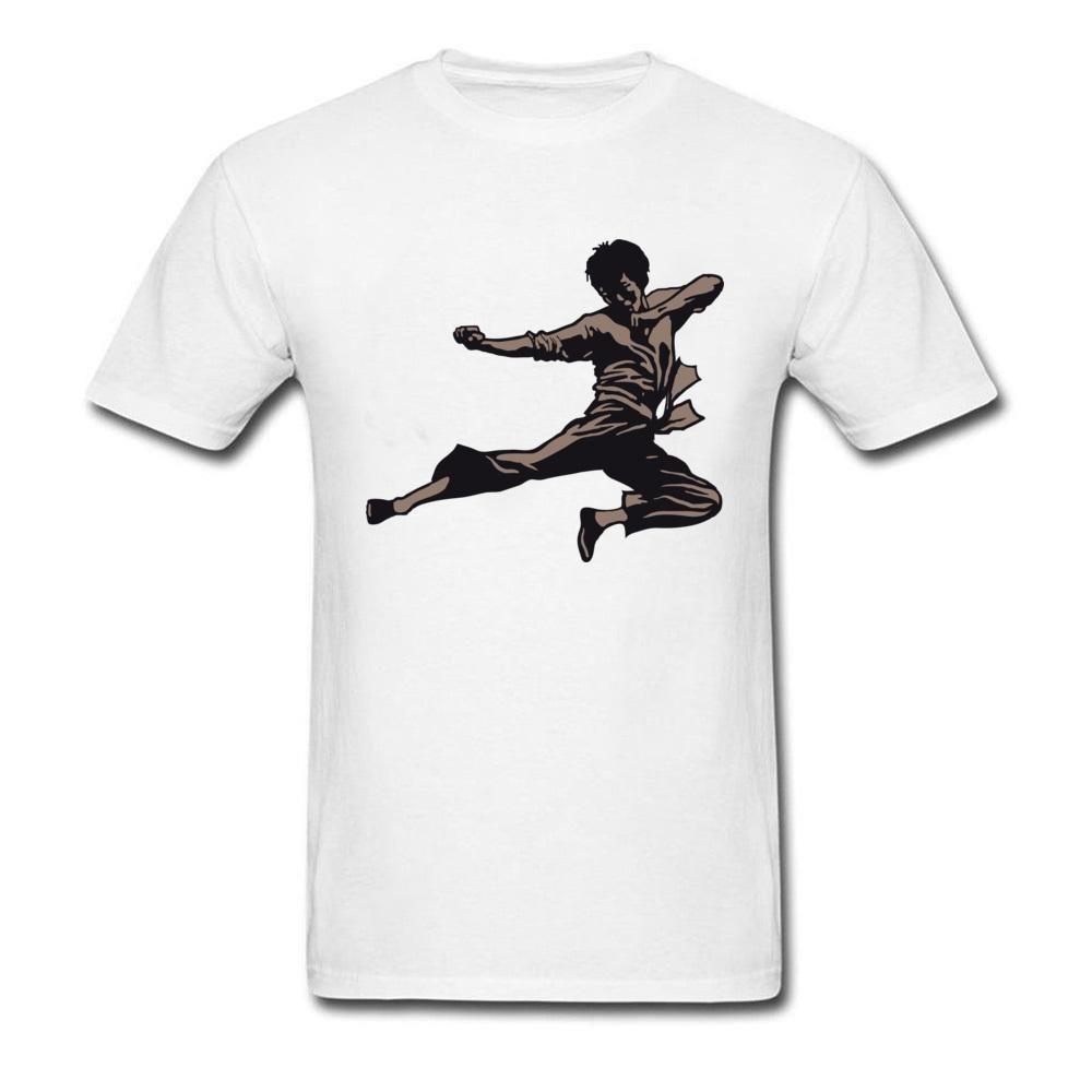 Bruce Lee Kung Fu T Shirt For Adult Martials Art Fan T Shirt Popular