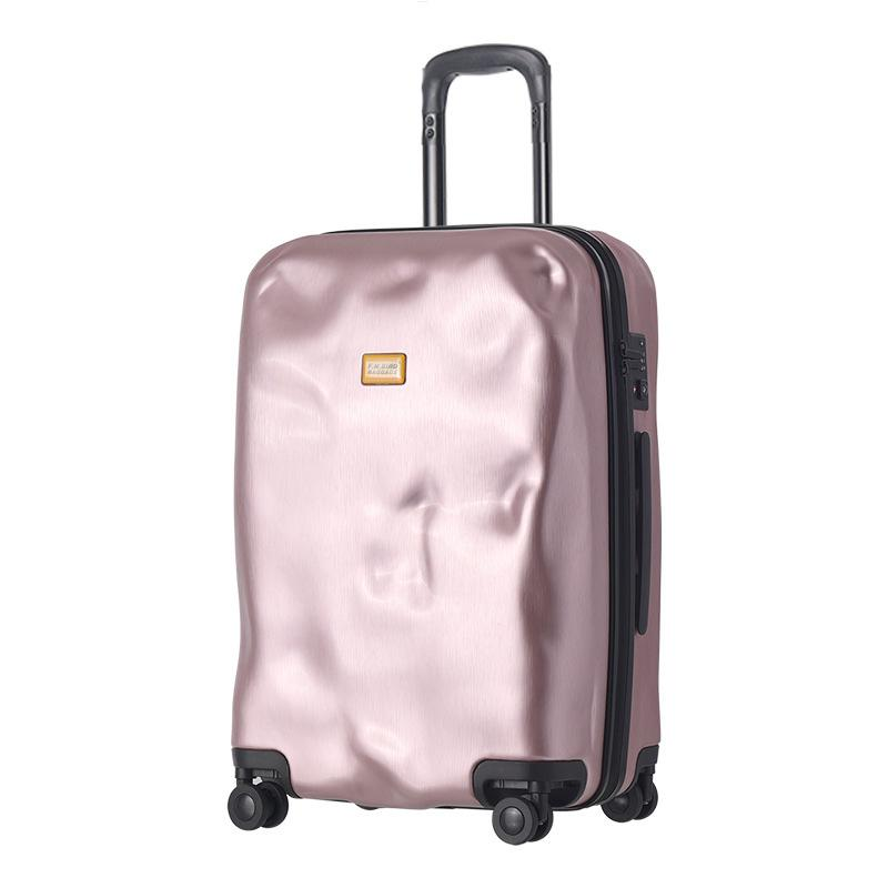 ec604a5c8f74 Rolling Spinner Luggage Travel Suitcase Women Trolley Case With Wheels  20inch Boarding Carry On Travel Bag Trunk Retro Suitcase Travel Duffel Bags  Duffle ...