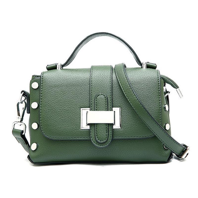 4c7d49467c Good Quality Fashion Luxury Rivet Handbags Women Bags Designer Ladies  Leather Zipper Shoulder Wallets Purse Tote Messenger Hand Bags Womens Bags  Wholesale ...