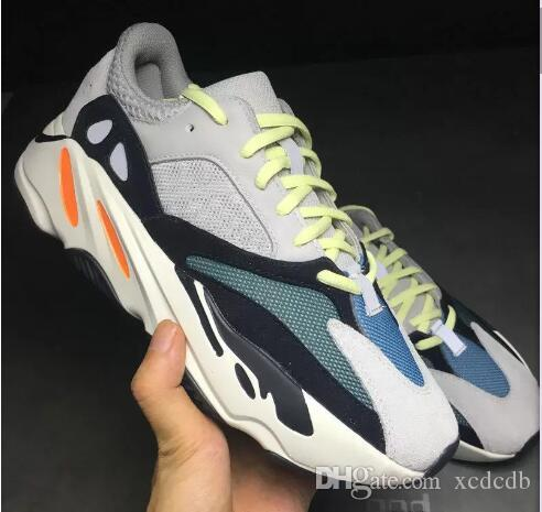 finest selection bb680 da913 2018 New Kanye West Runner 700 Mens Women Cheap Wholesale Sports Running  Sneakers Shoes 40-45 With Box