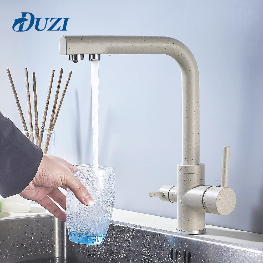 2019 Duzi Mixer Tap Kitchen Faucet With Filtered Water Mixer Single