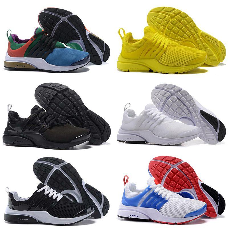 Presto shoes 2018 PRESTO 5 BR QS Breathe Schwarz Weiß Gelb Rot Herren Schuhe Turnschuhe Damen Laufschuhe Hot Men Sportschuhe Wanderschuhe
