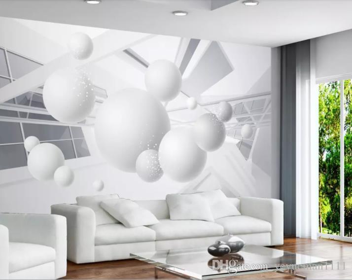 Decorazioni Murali Camera Da Letto : D moderna carta da parati stereo rosa morbido d decorazioni