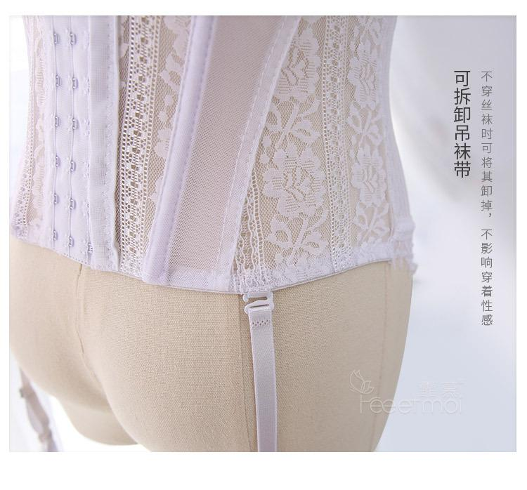 2019 nuevas medias sexy lencería erótica sexy corsé seductor corsé extraíble T-Back ropa sexual Glamour Bodycon Bustier