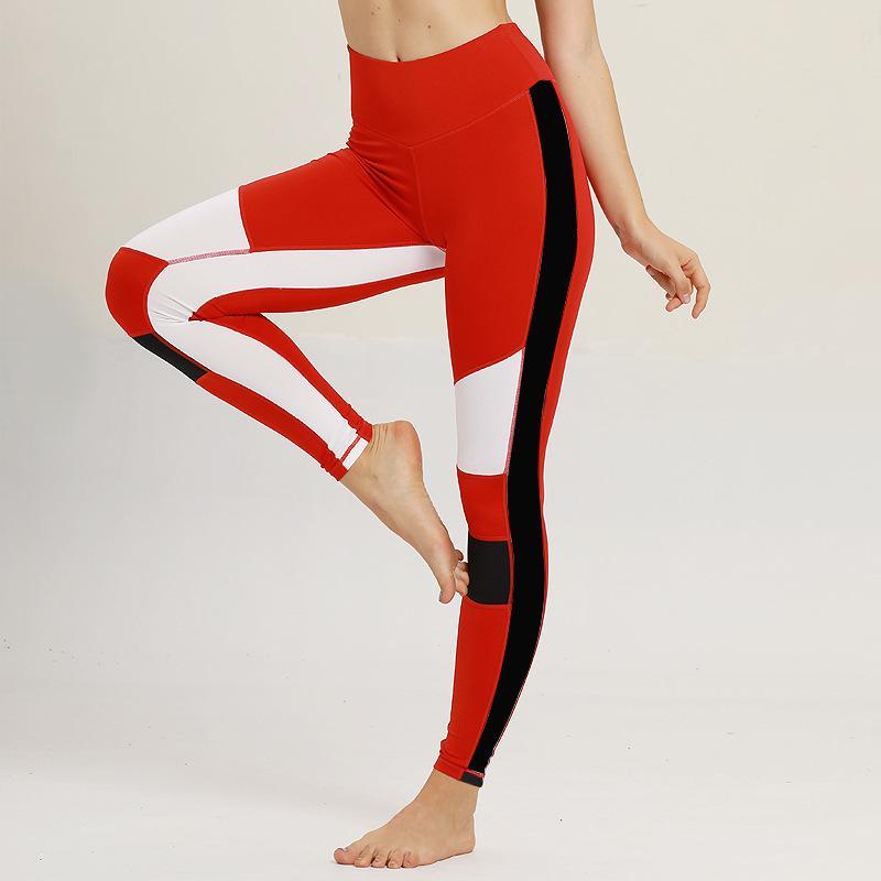 33d4f24b16464 2019 ESHINES Mesh Yoga Pants Women Fitness Leggings Workout Sports Running  Leggings Female Sexy Push Up Gym Wear Elastic Slim Pants From Capsicum, ...