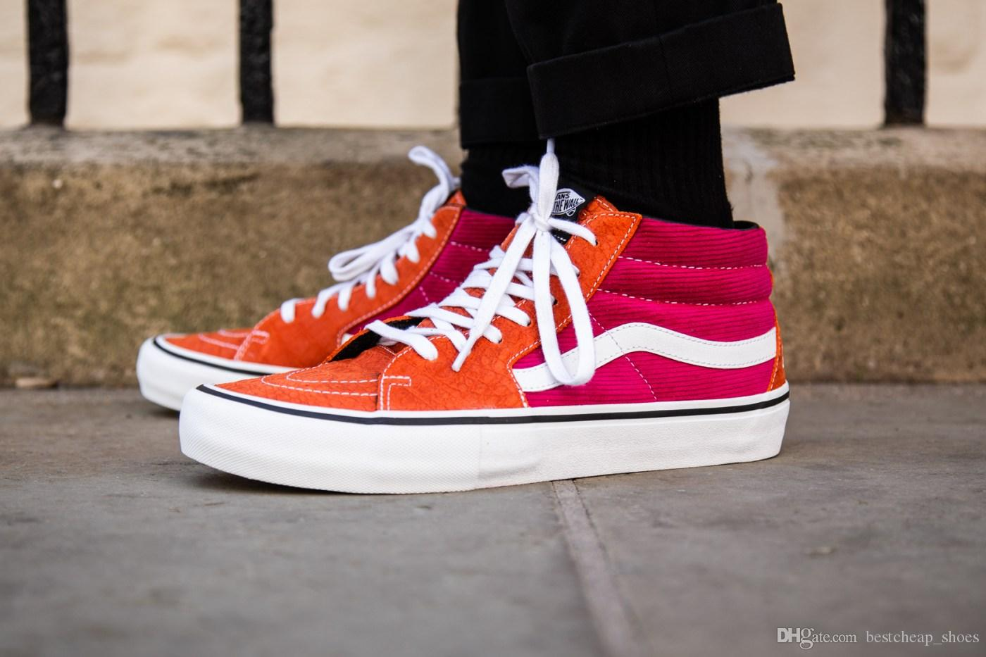 Sup Vans Sk8-Mid Pro Lampin Slip On Old Skool Donna Scarpe casual Skate  Canvas 2cb4845d264