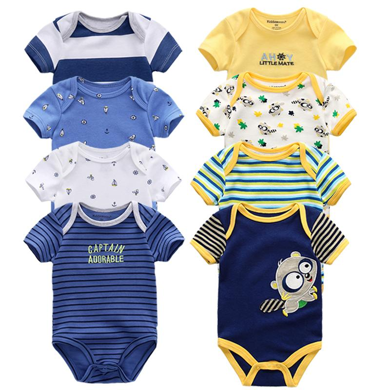 fd495390 2019 Baby Rompers Short Sleeve Overalls New Born Baby Boy Clothes Infant  Baby Girls Outfit Jumpsuit Roupas De Bebe Clothing J190425 From Tubi06, ...