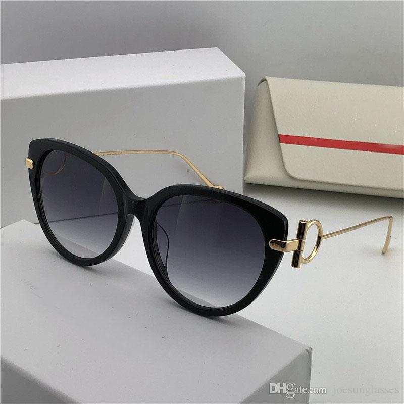 537f2a2a67 New Fashion Designer Sunglasses 9190 Charming Cat Eye Frame Popular ...