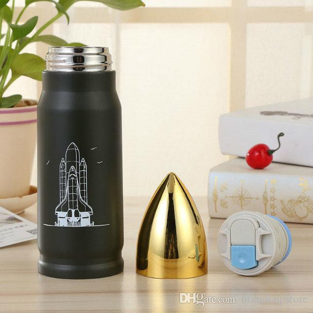 92ac06b2e8e NEWEST 500ml Bullet Stainless Steel Vacuum Cup Tea Coffee Flask Mug Thermos  Travel Drink Bottle School Office Travel Drink Bottle