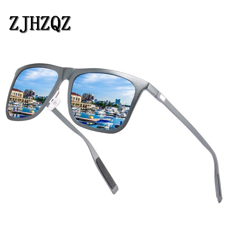835a47cf00 Compre Marca Unisex Retro Aluminium + TR90 Hombres Gafas De Sol Polarizadas  Gafas De Sol Lentes Vintage Eyewear Accesorios Para Hombres / Mujeres A  $32.83 ...