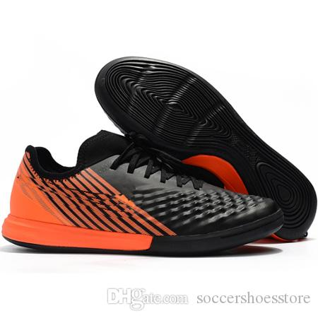 7819b05affb 2019 Mens Soccer Shoes MagistaX Finale II IC Indoor Soccer Cleats Cheap  Football Boots Shoes Leather Leather Shoes For Toddler Girl From  Soccershoesstore