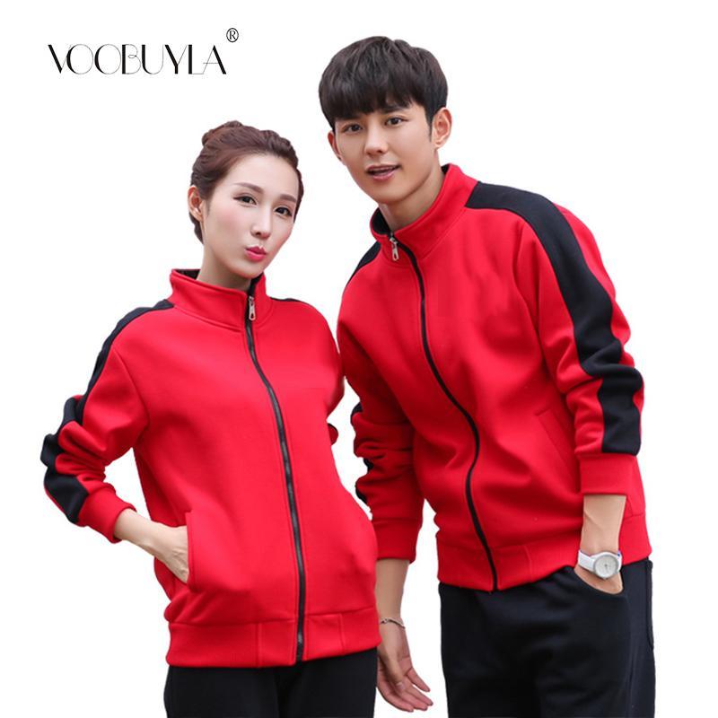 890114f5f2f74 2019 Voobuyla Running Jacket Women Jackets Plus Size Sportswear Men Run Coat  Zipper Sweatshirt Clothes Workout Spring Sport Jacket From Bluelike, ...