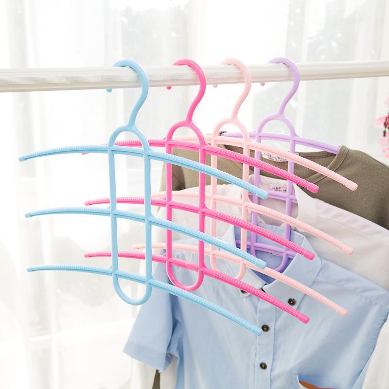 5726e7daa158f Acheter Couches Type De Fishbone Anti Dérapant Cintre Sec Et Humide Cintres  Vêtements Plus Fonction Pantalon Rack Ménage Cravate Cadre De $2.31 Du ...