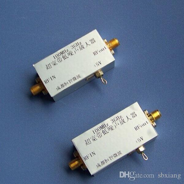 Freeshipping 20MHZ to 3GHZ Low-noise amplifier RF Amplifier 30dB frequency  : 100MHz-3000MHz