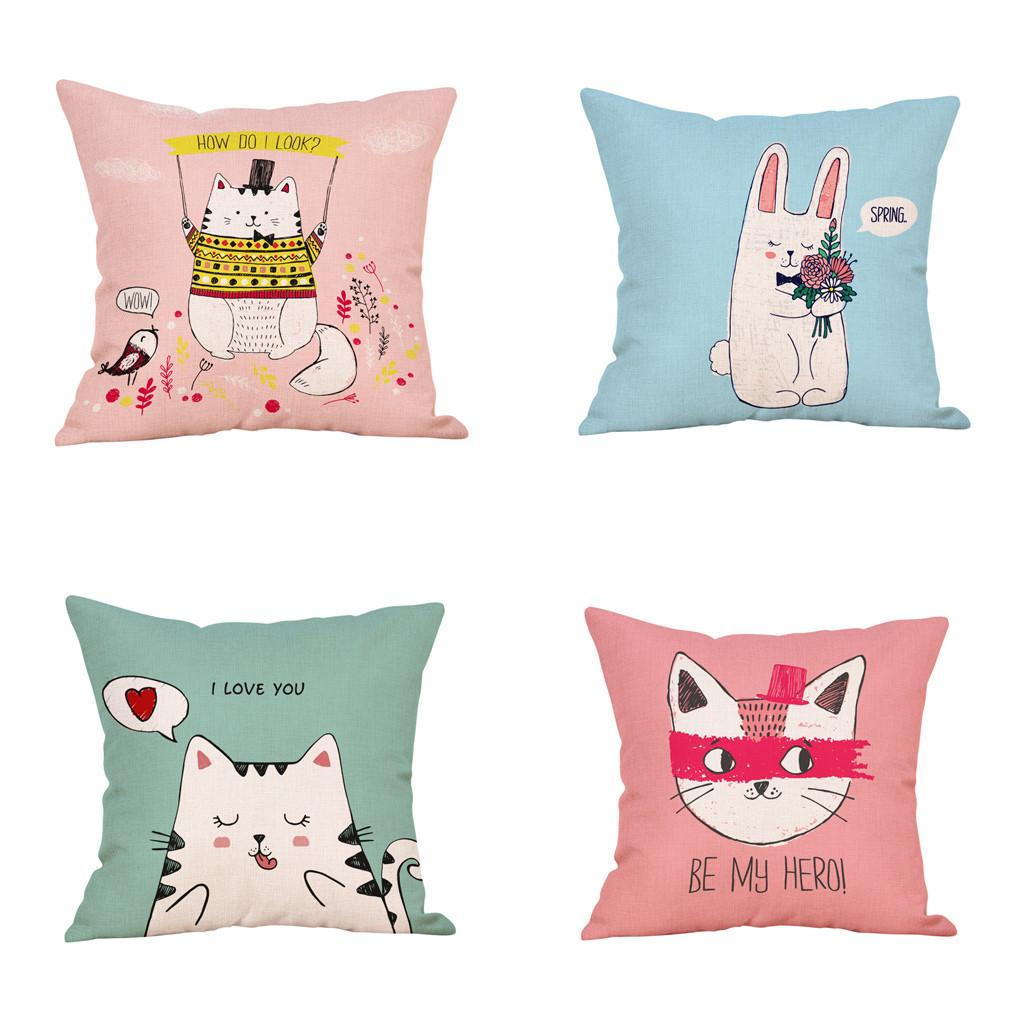 Awe Inspiring Hot New Products 4Pcs Pillow Cover Modern Decorative Throw Couch Pillow Case Family Cheap Discount Home Alphanode Cool Chair Designs And Ideas Alphanodeonline