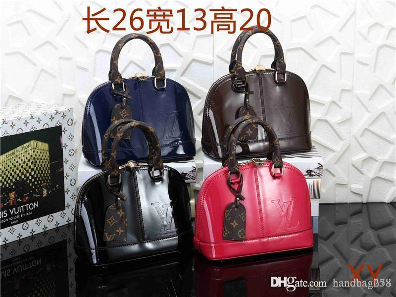 2cfa5bd914938a Famous Brand Women Bags PU Leather Handbags Famous Designer Brand Bags Purse  Shoulder Tote Bag Wallet AA02 Mk Online with $56.3/Piece on Injie8182's  Store ...