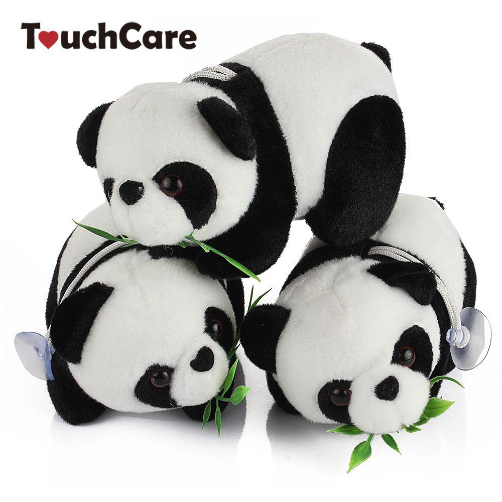 Acquista animali farciti animali 16cm cute cartoon panda con bambù