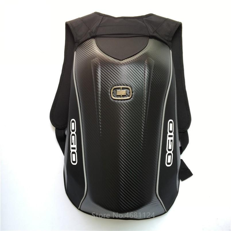 12474ba98db2 OGIO Mach Cycling Motorcycle Backpack Waterproof Carbon Fiber Hard Shell  Dirt Bicycle Bag Motocross Bike Luggage Bag For Yamaha