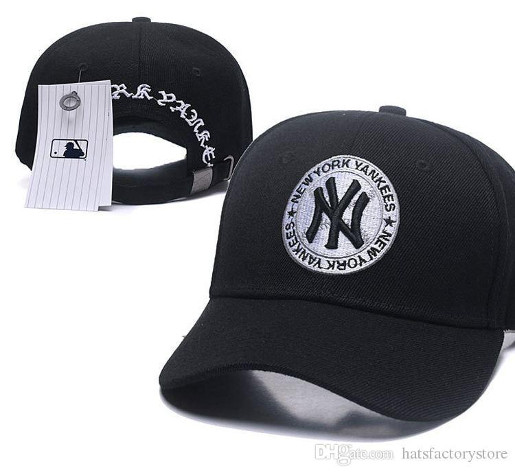 Compre Marcas De Moda Hip Hop Classic NY Snapback Hat Equipo Logo Ny Bordado  Deporte Béisbol Gorras Planas Hip Hop Chapeaus En GWholesale Envío Gratuito  A ... 90a19d1f344