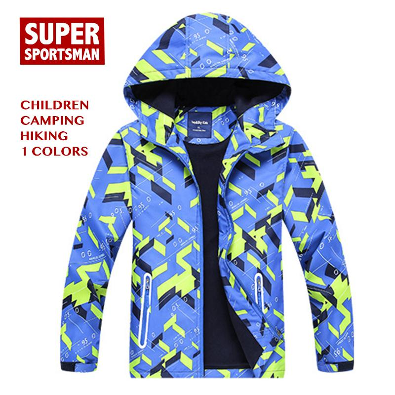 4931750500 Kids Boys Girls Softshell Hiking Jackets Children Outdoor Camping ...