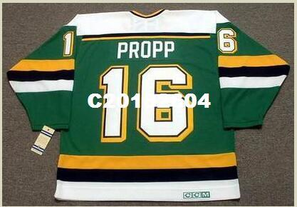 2019 Men  16 BRIAN PROPP Minnesota North Stars 1990 CCM Vintage RETRO Home  Hockey Jersey Or Custom Any Name Or Number Retro Jersey From C20182604 363a1be86