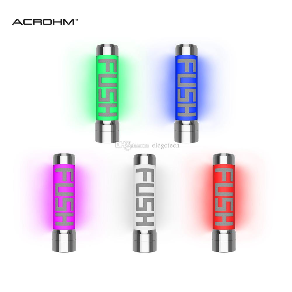 Acrohm FUSH Semi-Mech LED Tube Mod Unregulated With ACE Chip USAGE  Protection High Electrical Conductivity Bulletproof Tube 100% Authentic