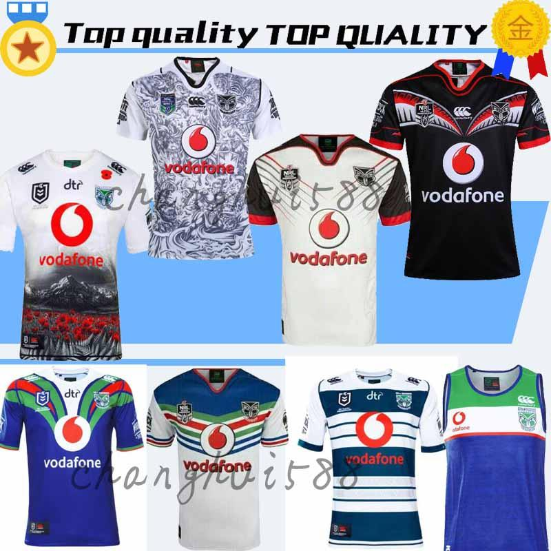 c540ddb870d 2019 2019 2020 Auckland Warriors Rugby Jerseys 18 19 20 Top Quality 9S Men Rugby  Shirts