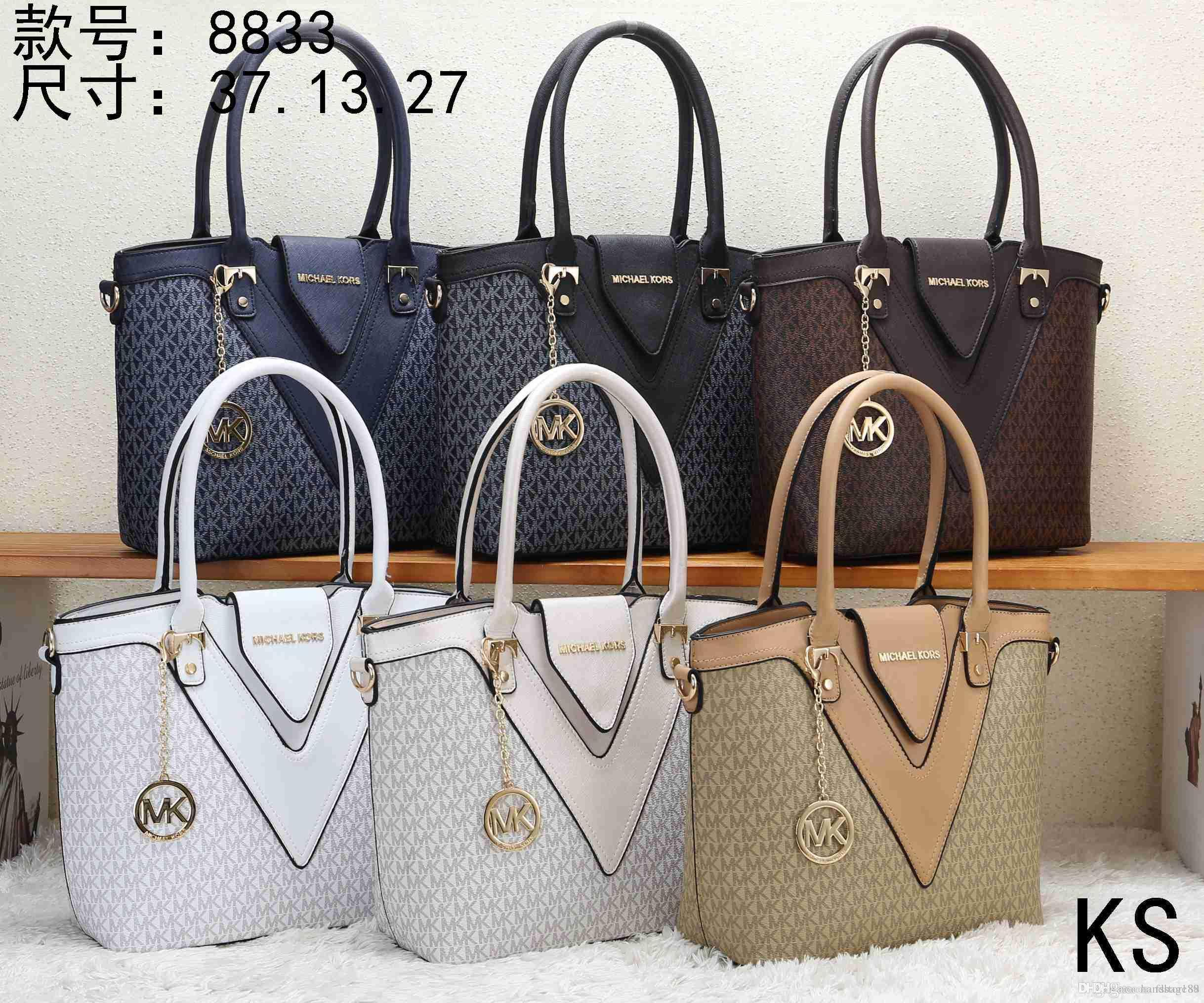 da48f6cb02da 2019 MK 8833 KS NEW Styles Fashion Bags Ladies Handbags Designer Bags Women  Tote Bag Luxury Brands Bags Single Shoulder Bag From Fsstore88, $28.15 |  DHgate.