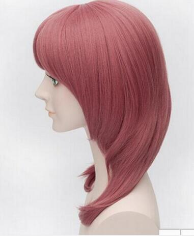Wig Anime Love Live Character Nishikino Maki 45CM Watermelon Red Medium Long Cosplay Wigs Peruca Free Shipping