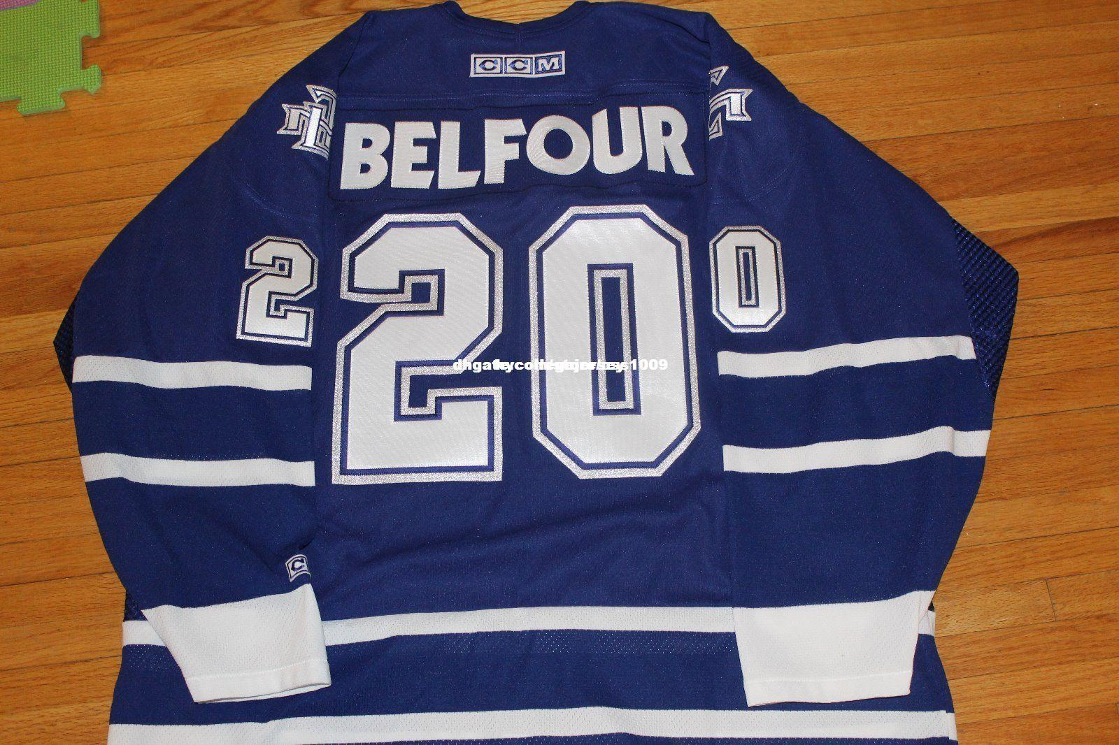reputable site dfd4c 2cee6 Cheap custom VINTAGE 2002 TORONTO MAPLE LEAFS JERSEY ED BELFOUR RARE Mens  Personalized stitching jerseys