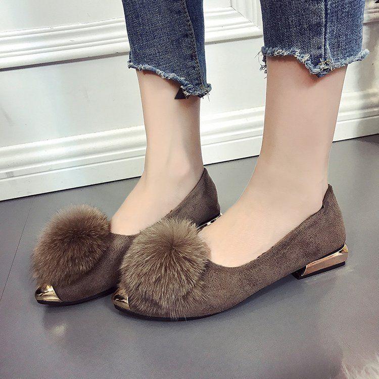 cea23a7c2 Compre Sapatos De Bebê De Padrão De Outono Sexy2019. Boca Rasa Afiada Baixa  Com Sapato Único Aumentar Abaixo Manter Quente Doug Sapatos Femininos De  Chagall ...