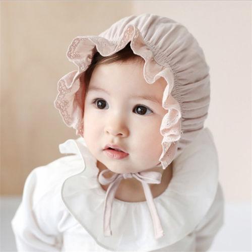 175d0b73cc8def Baby Girls Cotton Hat Bucket Sun Summer Hat Cap Bonnet Newborn ...