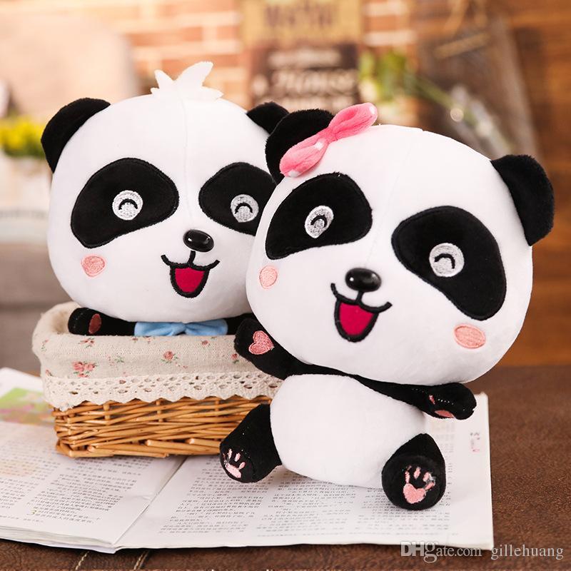2019 35cm Cute Giant Panda Panda Stuffed Animal Large Plush Toys