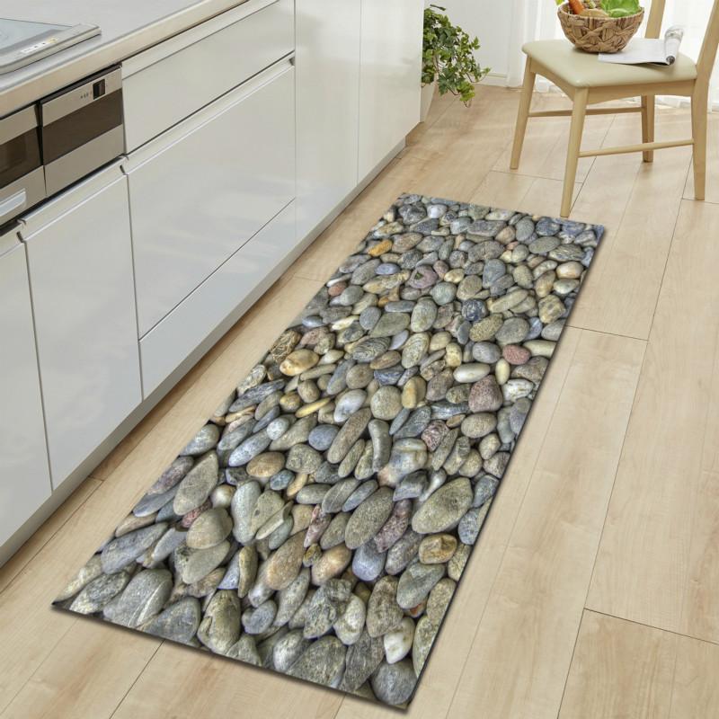 Großhandel Die Stein Küche Teppiche 3D Antislip Fußmatte Decke ...