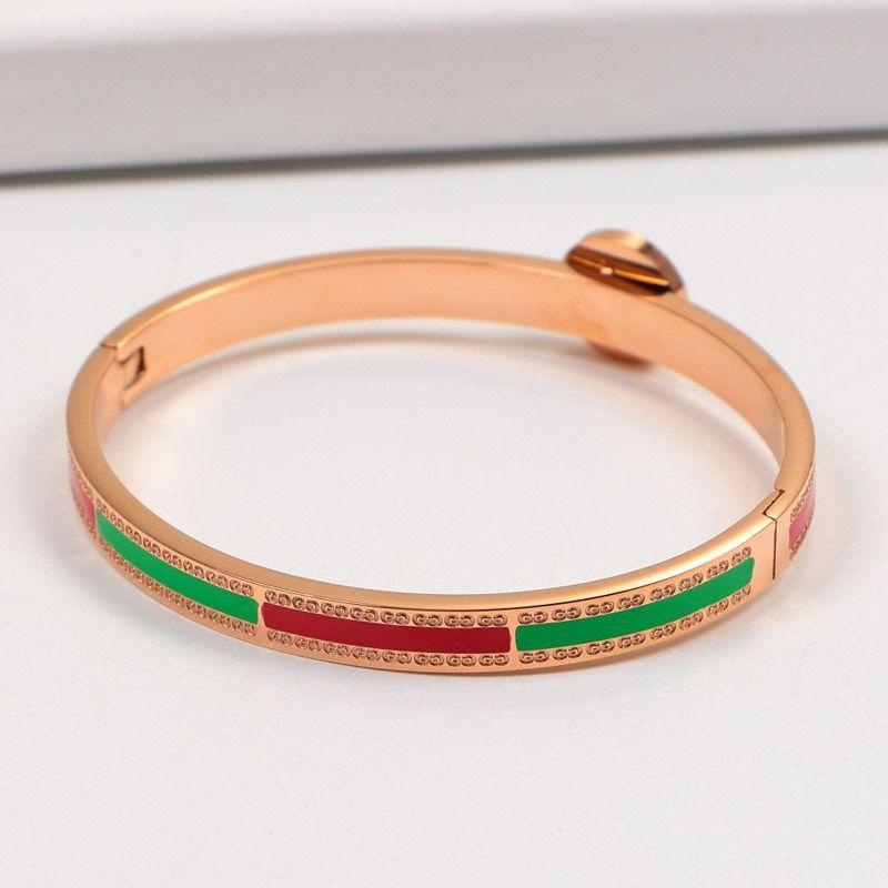 0d7c98789 High Quality Luxury Designer Bracelets Charm Bracelet G Steel Rose Gold  Bracelet Female Models The New High Quality Drop Shipping Popular Charm  Bracelets ...