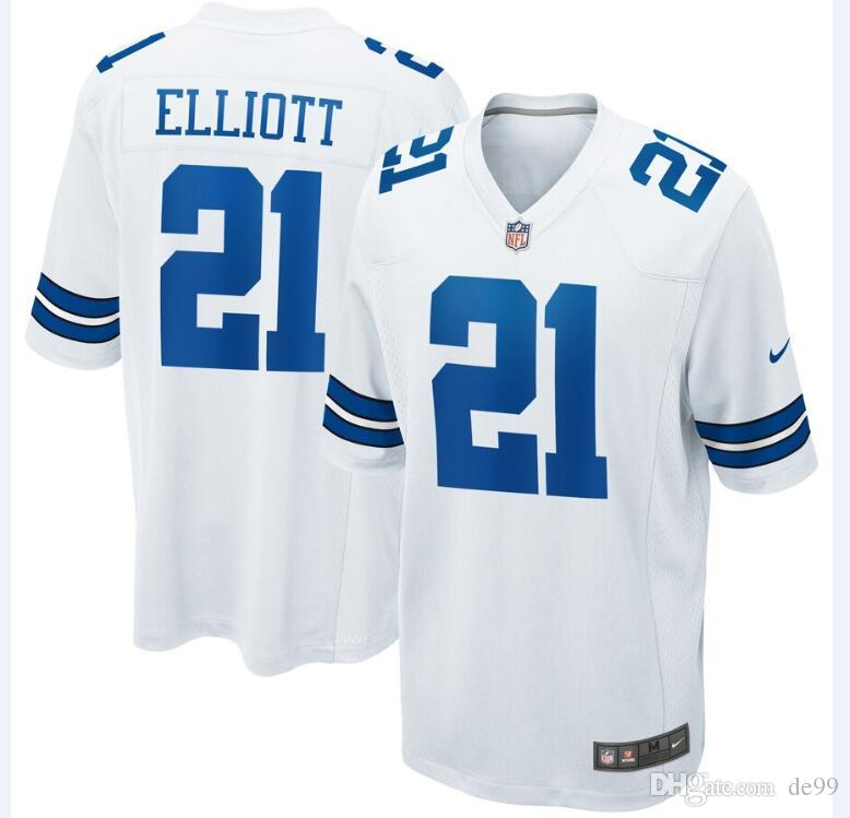 best website 2c8f1 ae047 Dallas Ezekiel Elliott Cowboys Jersey Dak Prescott Jason Witten Amari  Cooper Connor Mcgovern custom american football jerseys youth mens