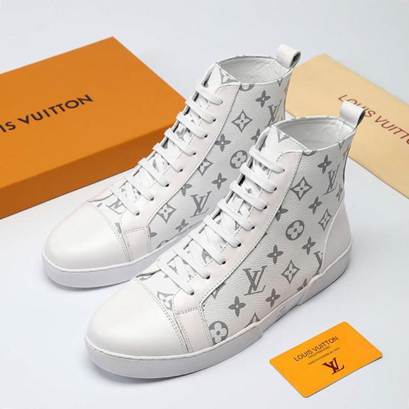 2019 Zapatos de hombre Zapatillas de deporte Transpirables Cómodos Zapatillas de tenis de moda Zapatos de hombre TATTOO SNEAKER BOOT Venta caliente